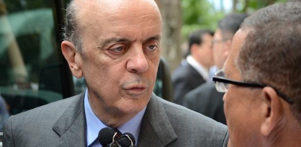 17.ago.2014 - O senador José Serra (PSDB-SP)