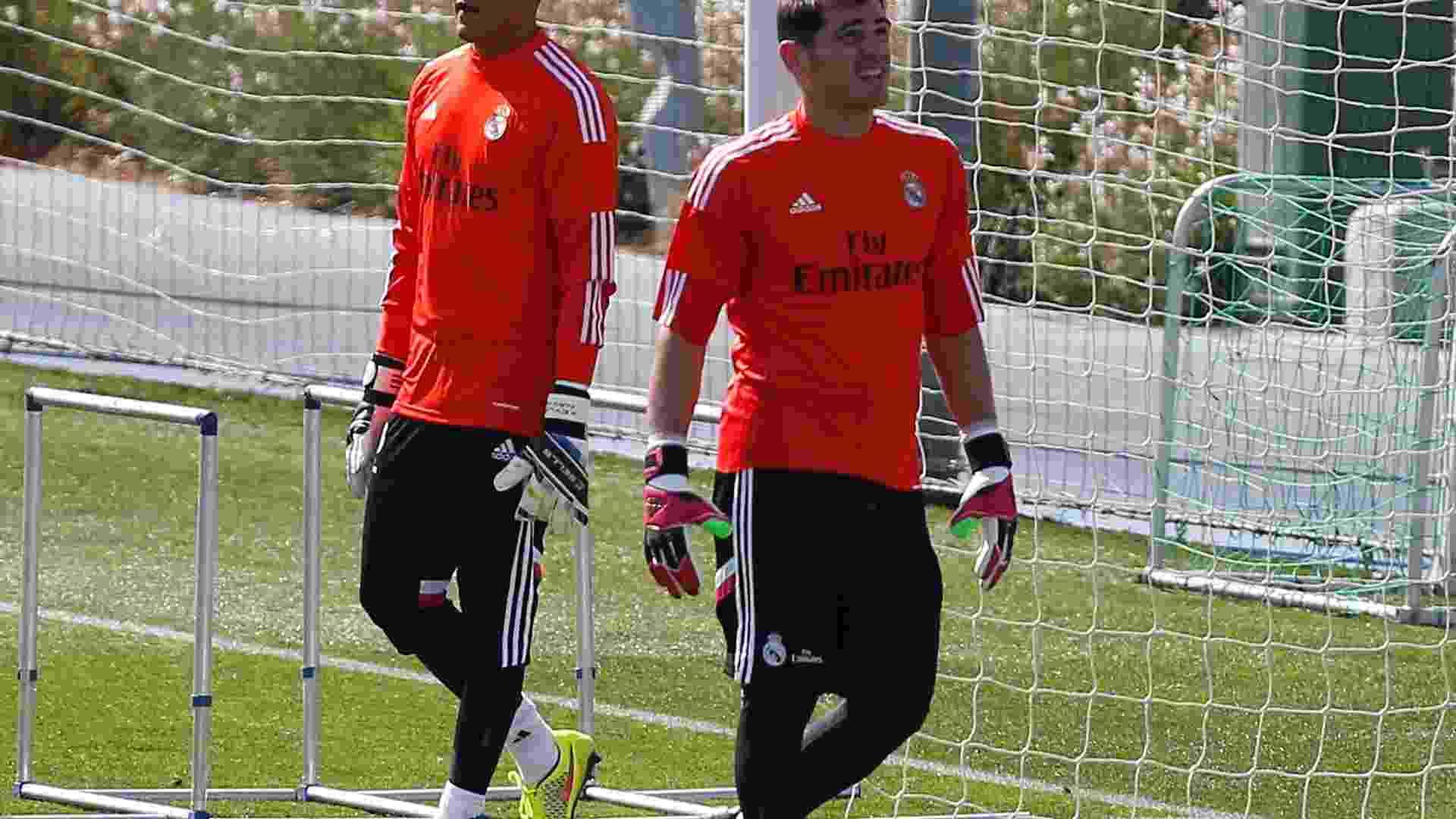 Ancelotti mantém Casillas no gol do Real para a Super Copa da Espanha abf92d3509d96