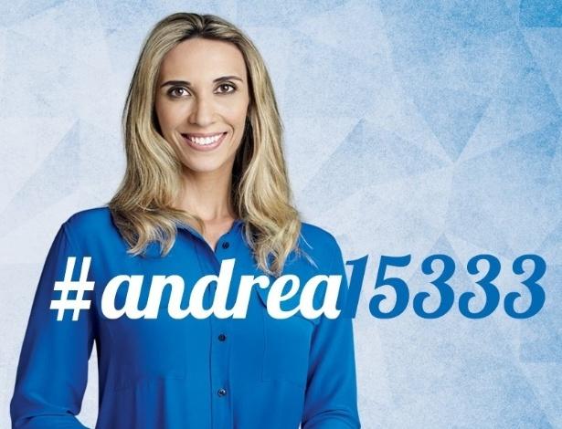 Andrea Murad é candidata a deputada estadual do Maranhão pelo PMDB. Ela tem 32 anos, é casada e tem uma filha