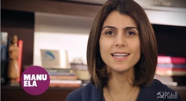 Após cumprir dois mandatos como deputada federal, Manuela D'Avila (PC do B-RS) agora é candidata a deputada estadual