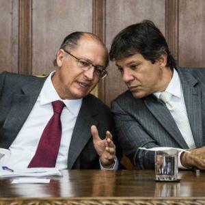 """Alckmin diz que críticas a Haddad devem ser encaradas como à """"pessoa jurídica"""""""