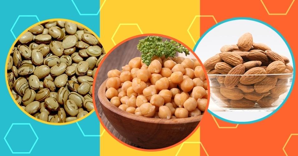 chamadas vegetais ricos em proteínas