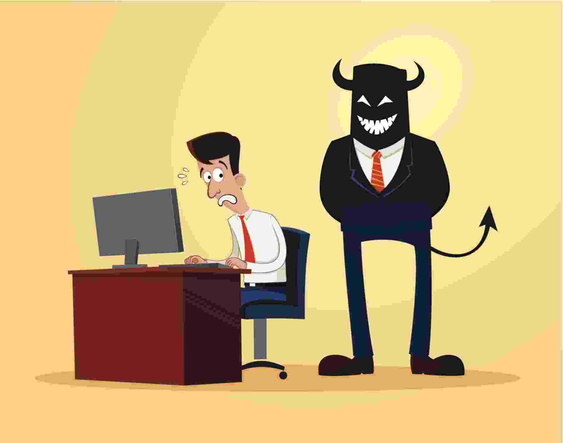 Funcionário, chefe, profissional, medo - Getty Images