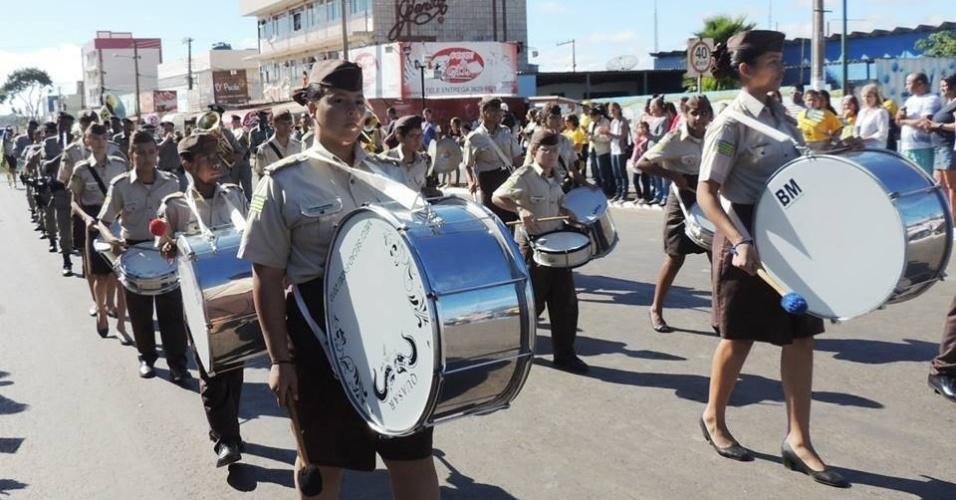Para acabar com a violência, o governo estadual de Goiás 'militarizou' as escolas mais problemáticas