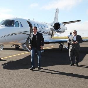 Avião que caiu em 2014 com Eduardo Campos a bordo - Edson Silva/Folhapress
