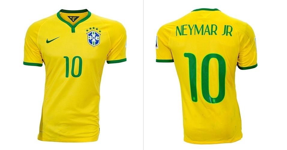 4bd43be1c Sites leiloam roupas usadas por atletas e camisa de Neymar sai por R  5.300