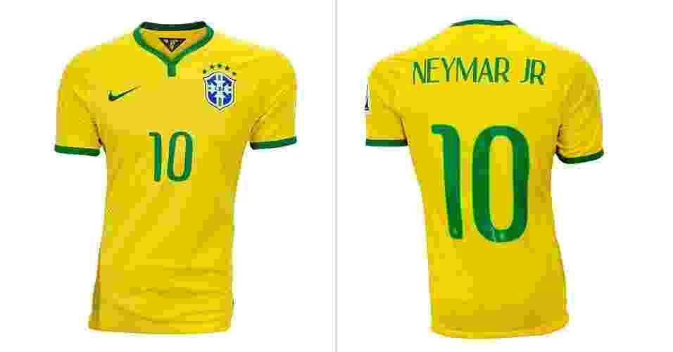Sites leiloam roupas usadas por atletas e camisa de Neymar sai por R  5.300 d75f458ff5d09