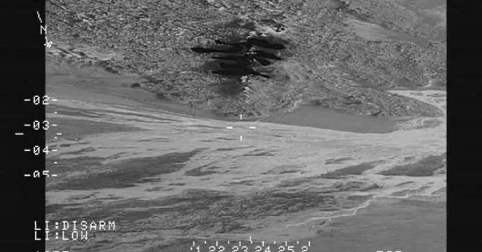 29.ago.2014 - Foto divulgada pela Polícia Nacional da Islândia nesta sexta-feira (29) mostra área do vulcão Bardarbunga coberta por lava no norte do país. A Agência Europeia para a Segurança da Aviação (Eurocontrol) ressaltou que o vulcão não expeliu cinzas. O Instituto Meteorológico elevou o nível de alerta para vermelho (o máximo) para os voos sobre o vulcão, mas os aeroportos do país não foram fechados