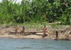 Tráfico de drogas, mineração e germes: o que ameaça os povos isolados da Amazônia peruana - G. Galli/uncontactedtribes.org