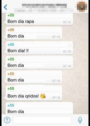 Resultado de imagem para bom dia no whatsapp é coisa de brasileiro