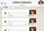 Olha o truque: veja como ouvir um áudio no WhatsApp antes de enviá-lo (Foto: Reprodução)
