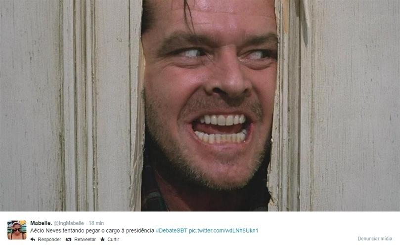 1.set.2014 - Enquanto é realizado o debate entre presidenciáveis, as redes sociais exploram erros e falas engraçadas dos candidatos para criar memes e piadas. As montagens surgem quase que instantaneamente após comentários engraçados ou escorregões daqueles que buscam a Presidência