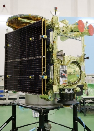 A nova sonda exploradora de asteroides japonesa, Hayabusa-2