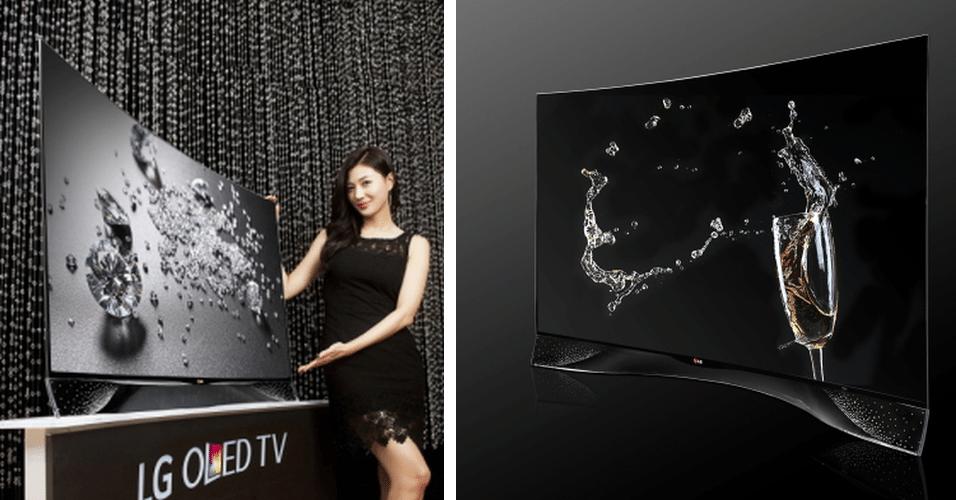 A LG divulgou uma TV curva de Oled com 460 cristais Swarovski. Não há informações sobre preço ou especificações técnicas, mas o produto deve chegar ao mercado europeu até o fim do ano. A TV deve ser apresentada na feita de tecnologia IFA em setembro