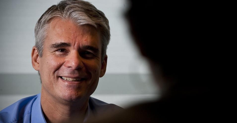 Bernardo Gradin, presidente da Braskem, durante entrevista, em São Paulo (SP)