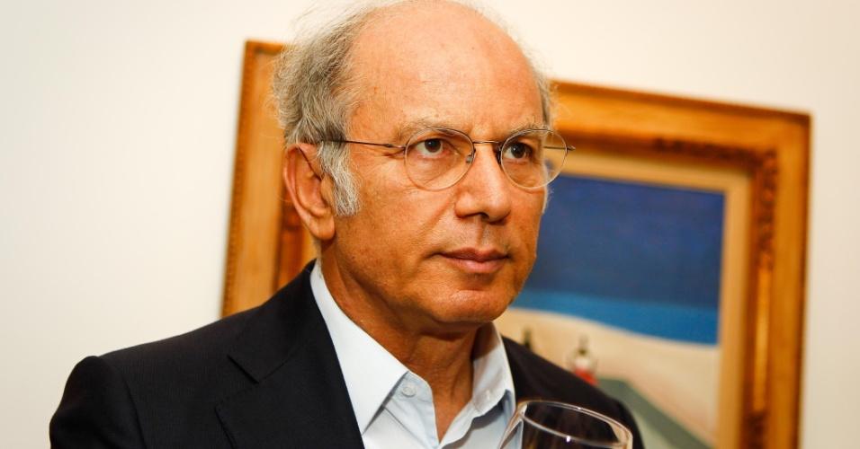 Elie Horn, empresário da Cyrela, durante jantar ao filósofo Peter Singer organizado pelo Centro de Cultura Judáica, em São Paulo (SP)