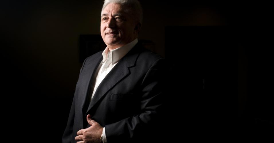 """Francisco Deusmar Queiros, presidente da rede de farmácias """"Pague Menos"""", em São Paulo (SP)"""