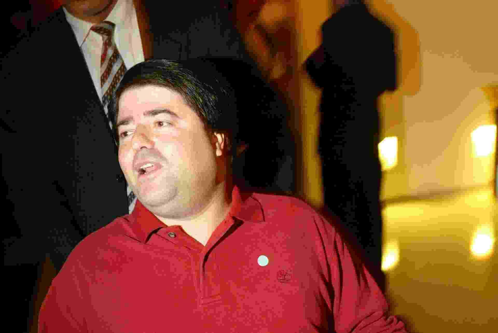 Pedro Moreira Salles durante o concerto de Nelson Freire no auditório Ibirapuera, em São Paulo, 09.11.2006 - João Sal/Folhapress