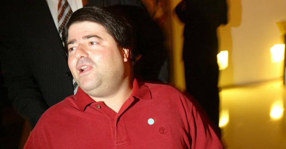 Pedro Moreira Salles durante o concerto de Nelson Freire no auditório Ibirapuera, em São Paulo, 09.11.2006