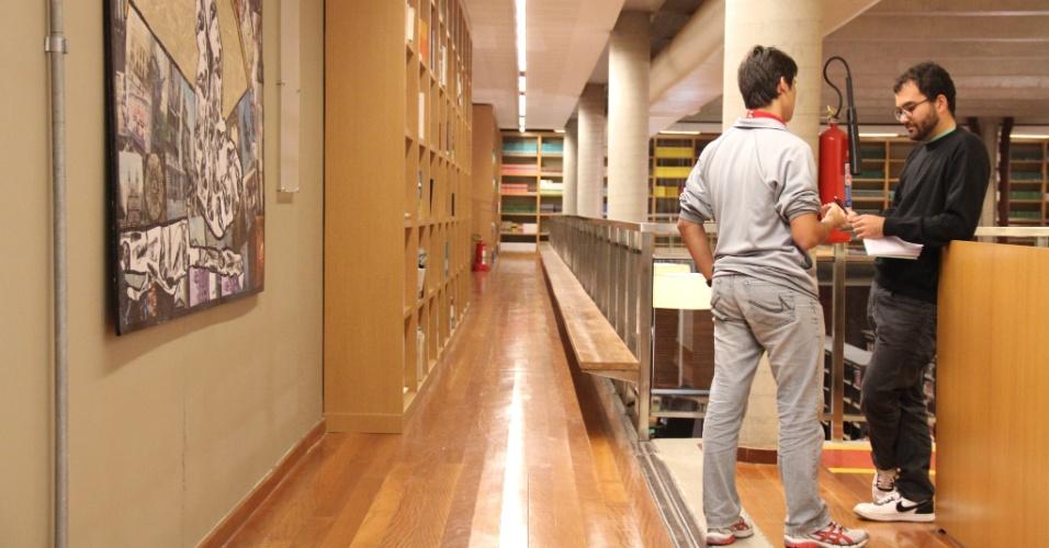 Biblioteca da Escola do Sesc do Rio de Janeiro