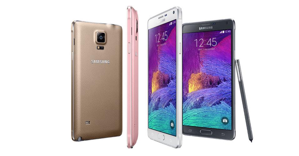 Lançamento do novo Galaxy Note 4, da Samsung. Aparelho chega ao mercado com tela Super Amoled, 5,7 polegadas, 176 gramas e 8,5 milímetros de espessura e processador 2.7GHz Qualcomm Snapdragon 805. As vendas vão começar a partir de outubro para alguns mercados