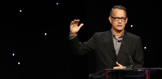 Tom Hanks durante premiação em Beverly Hills do ACE Eddie Awards, em fevereiro - Mario Anzuoni/Reuters