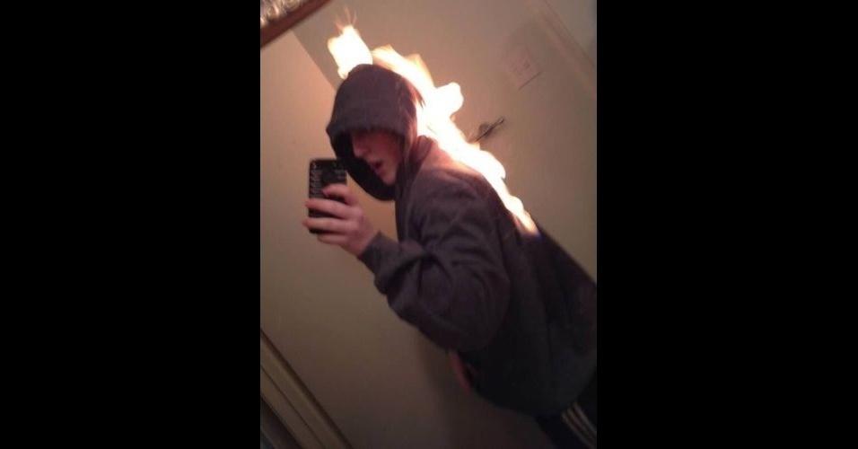 Selfie perigoso