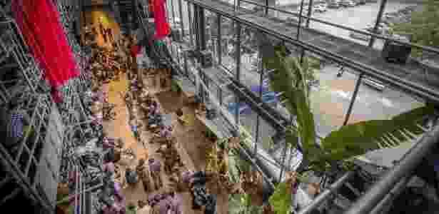 Teatro Oficina teve sua terceira versão, mais integrativa e comunitária, em projeto de Lina Bo Bardi e Edson Elito - Marlene Bergamo/Folhapress - Marlene Bergamo/Folhapress
