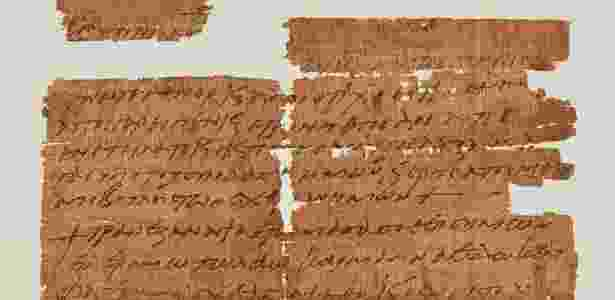 Fragmento indica que cristãos adotaram costume egípcio de usar amuletos contra perigos - University of Manchester, John Rylands Research Institute