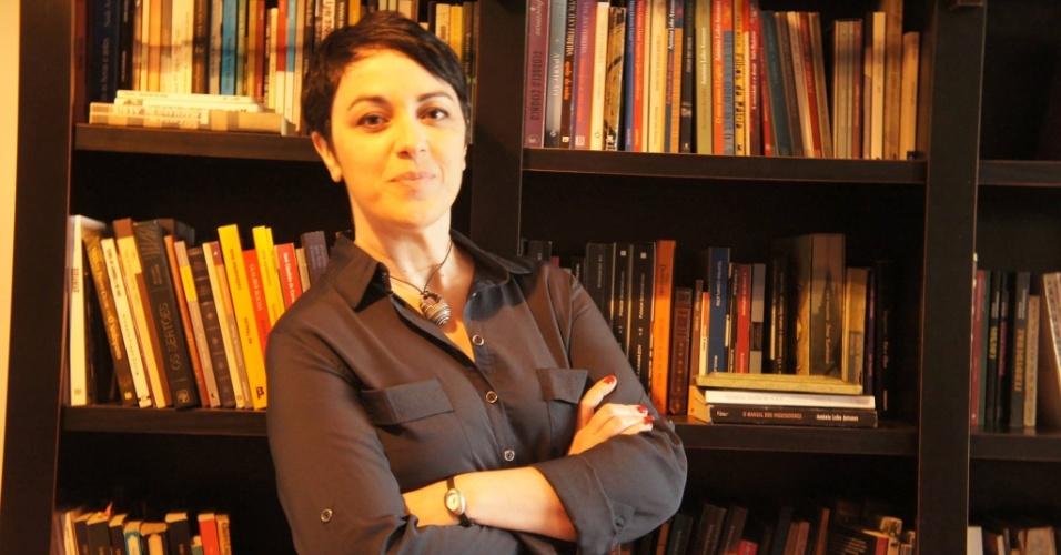 A escritora e filósofa Marcia Tiburi participou da confecção de um manifesto por intelectuais e acadêmicos em apoio à candidatura de Luciana Genro (PSOL)