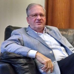 05.set.2014 -- Reitor da USP, Marco Antonio Zago, na sede da Fuvest