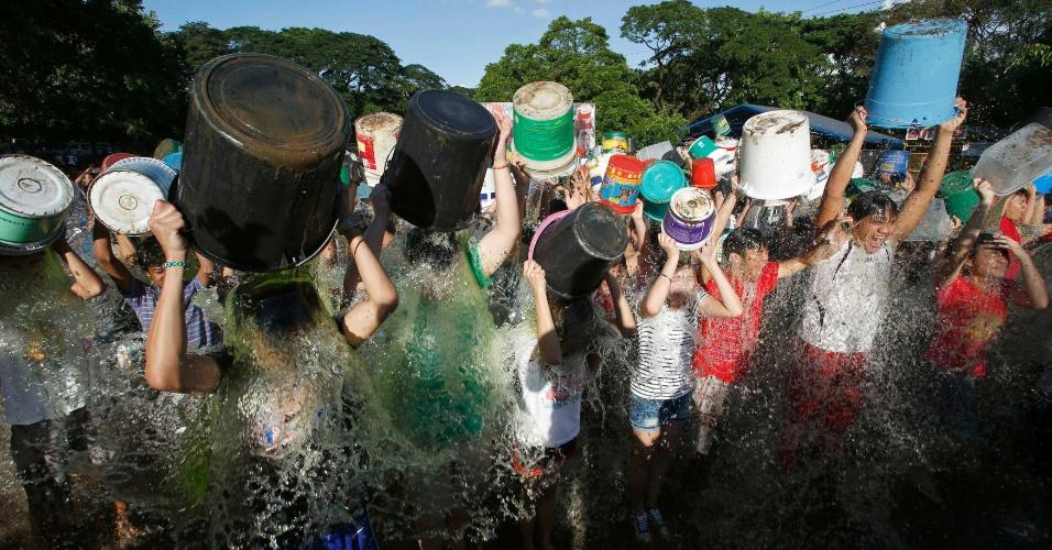 Desafio da agua gelada 10