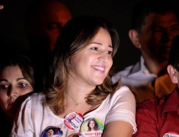 A candidata a deputada federal pelo PT do Piauí, Rejane Dias