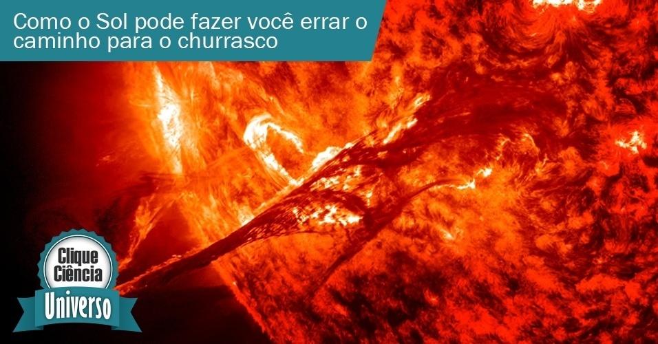 Clique ciência: Como o sol pode fazer com que você perca o caminho para o churrasco