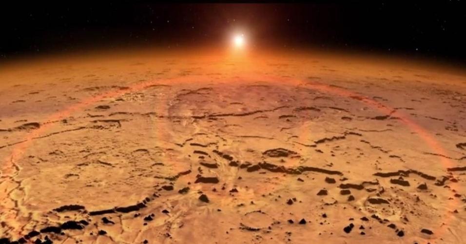 8.set.2014 - Em 21 de setembro, a espaçonave Maven (Atmosfera de Marte e Evolução Volátil, sigla em inglês) completará cerca de 10 meses de curso e entrará na órbita do planeta vermelho. A manobra chamada de órbita-inserção será realizada quando a sonda se aproximar de Marte, encerrando uma viagem interplanetária de 711mil km. A ação marcará 11 anos do desenvolvimento do projeto Maven, e prepara o terreno para a fase científica da missão, que promete investigar Marte como nenhuma outra já investigou