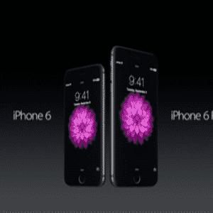 9.set.2014 - Em evento na Califórnia, a Apple apresentou os novos produtos iPhone 6 e iPhone 6 Plus - Reprodução