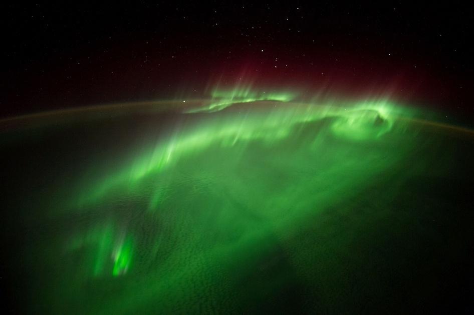 9.set.2014 - O astronauta da ESA (Agência Espacial Europeia) Alexander Gerst publicou esta foto tirada da ISS (Estação Espacial Internacional) no dia 29 de agosto, escrevendo,