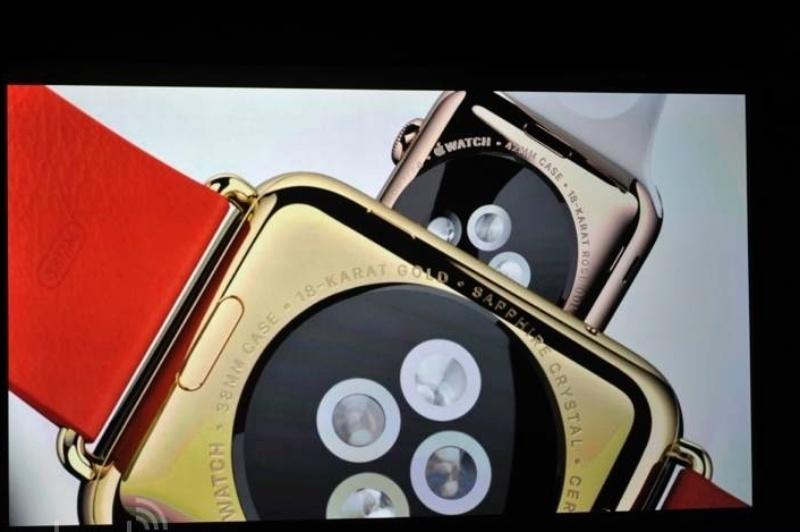 Apple apresenta o relógio Apple Watch, em evento na sede da empresa na Califórnia (EUA)