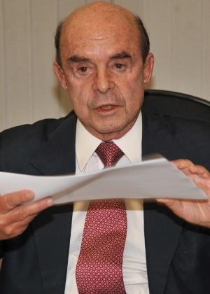 O governador interino do Rio de Janeiro Francisco Dornelles (PP)