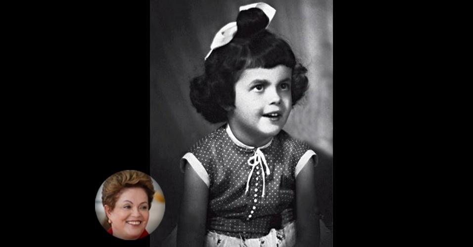 Dilma Rousseff, candidata à releição pelo PT, nasceu em 14 de dezembro de 1947, em Belo Horizonte (MG)