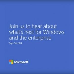 Microsoft fará evento nos EUA no dia 30 de setembro; mídia local acredita que empresa lançará novo Windows