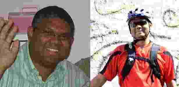O técnico em informática Roberson Miguel, 34, perdeu 20 kg ao trocar o carro pela bike - Arquivo pessoal
