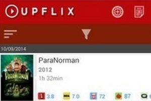 Upflix avisa de lançamentos no Netflix