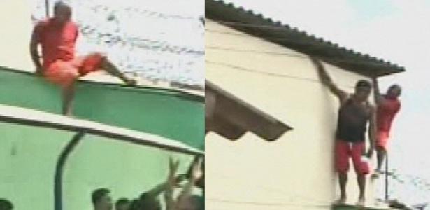 Presos tentam fugir de Casa de Detenção do Complexo de Pedrinhas, no Maranhão - Reprodução