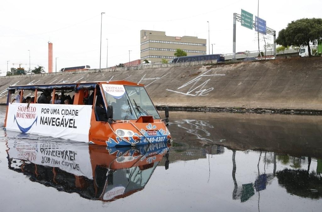 17.set.2014 - O São Paulo Boat Show promoveu nesta quarta-feira (17) a 3ª edição do projeto