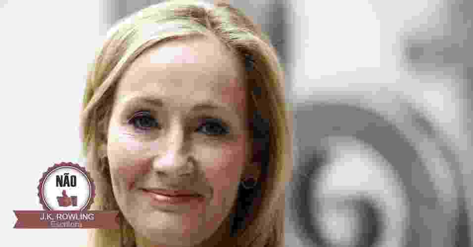 18.set.2014 - A escritora britânica J. K. Rowling, autora dos sete livros da famosa e premiada série Harry Potter, se declarou contrária a independência da Escócia. Ela doou um milhão de libras à campanha - Suzanne Plunkett/Reuters