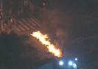 Protestos por moradia bloqueiam vias no centro e zona oeste de SP - Reprodução/TV