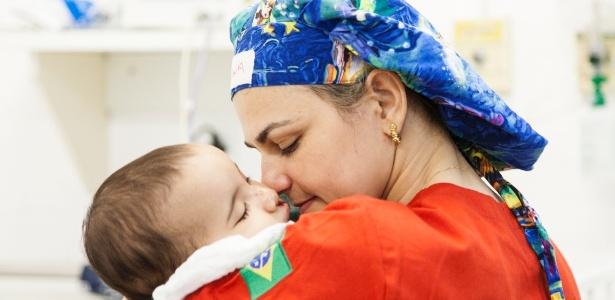 Um total de 250 crianças com lábio leporino foi inscrito para o mutirão em Fortaleza - Paulo Fabre/Divulgação