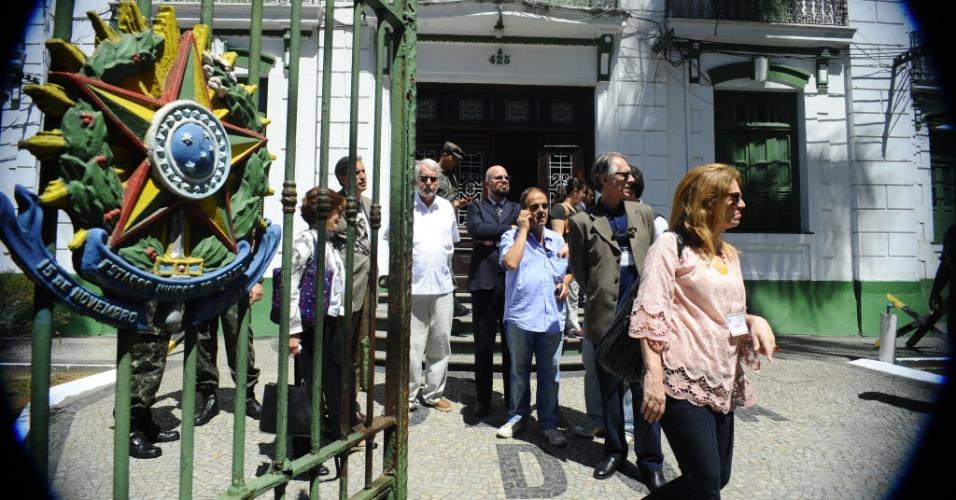 23.set.2014 -  A CNV (Comissão Nacional da Verdade) identificou 48 presos políticos que passaram pelas dependências do antigo DOI-Codi (Destacamento de Operações de Informações - Centro de Operações de Defesa Interna), no bairro da Tijuca, na zona norte do Rio de Janeiro. Desses, 15 morreram e 33 estão desaparecidos até hoje, informou nesta terça (23) o presidente da comissão, Pedro Dallari