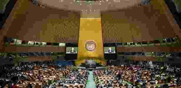 Encontro da ONU sobre mudança climática é adiado para 2021 por conta da pandemia de coronavírus - Andrew Burton/Getty Images/AFP